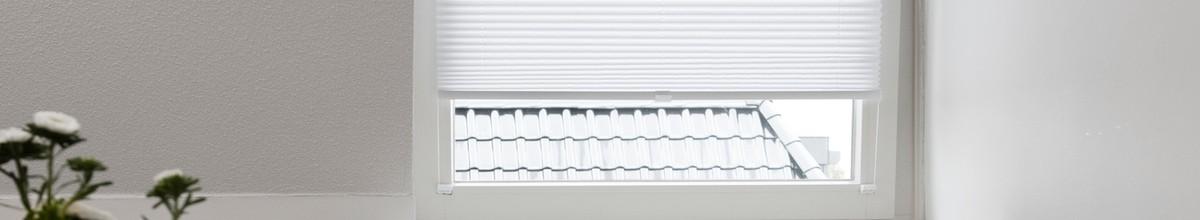 Lichtdoorlatende plisségordijnen | Raamdecoratie.com