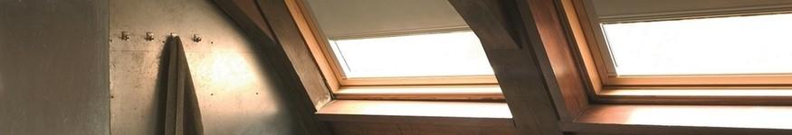 dakraambekleding rolgordijn als zonwering voor binnen