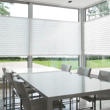 plissegordijnen raambekleding voor isolerende